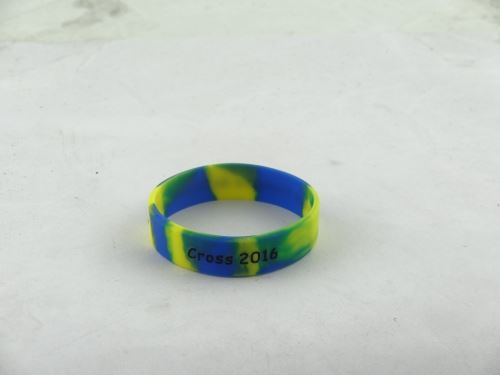 Where to custom embossed rubber bracelets?