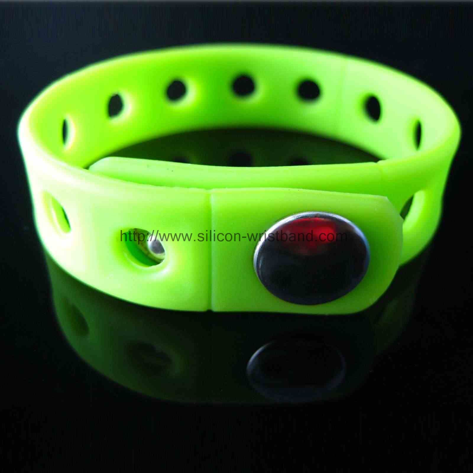 Why do some sites say they are U.S. factory production of silicone wristband?