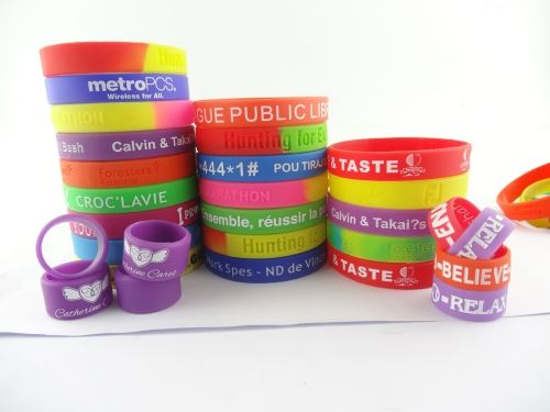 silicone wristbands sale