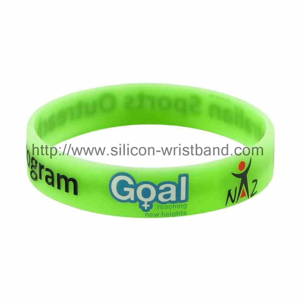 How to make debossed wristbands?