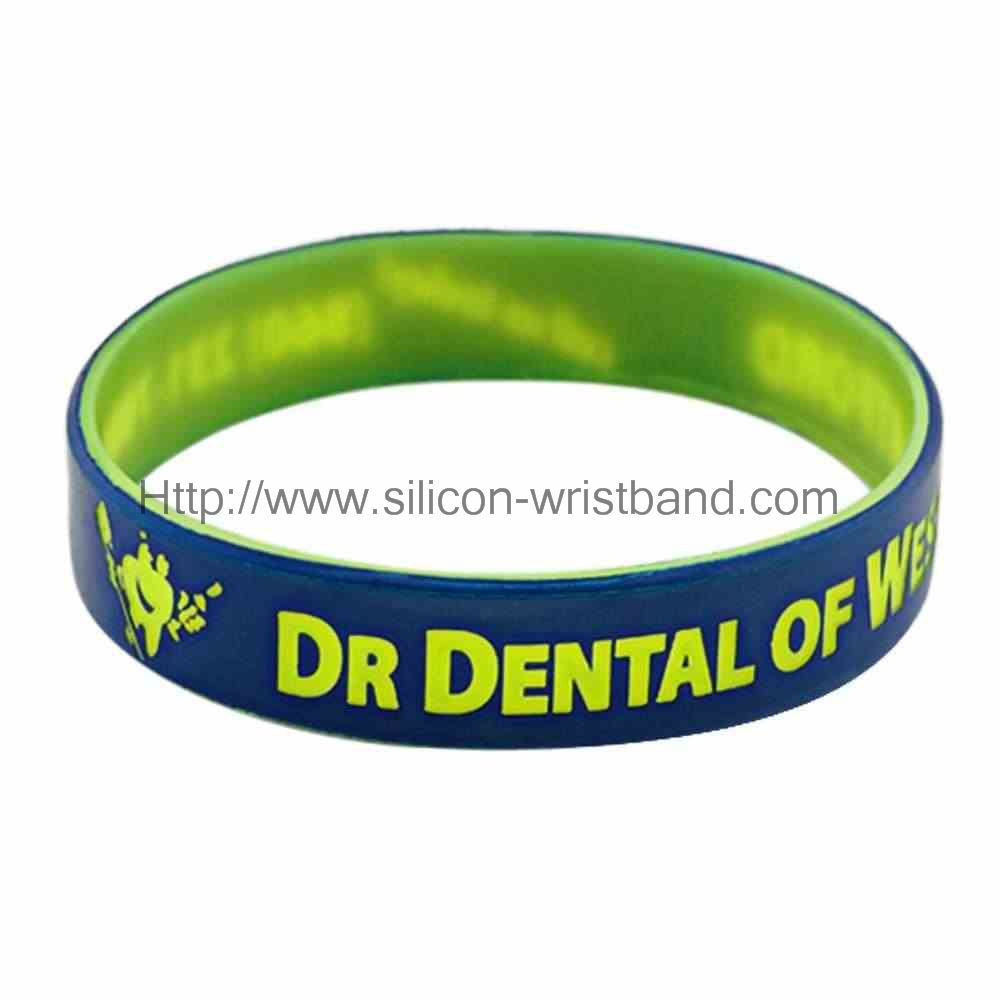paper wristbands with a message