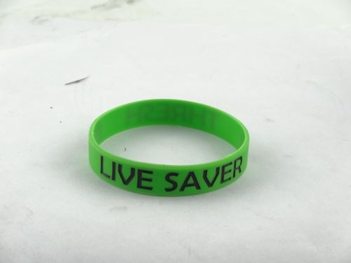 Where the custom of the silicone bracelet there is a discount