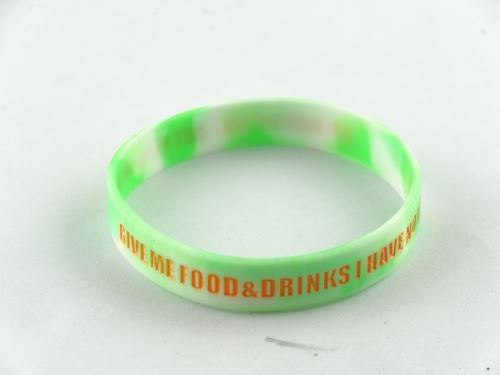 If you want to order the silicone bracelet can directly contact us to get more preferential code.