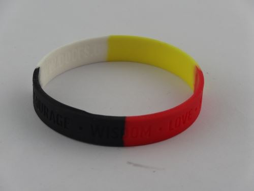 Funeral with silicone bracelet commonly used phrases?