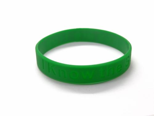 custom silicone bracelets no minimum order