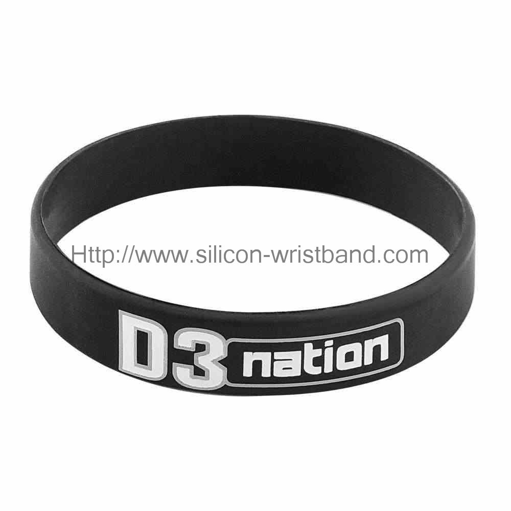 cheap rubber wristbands for events
