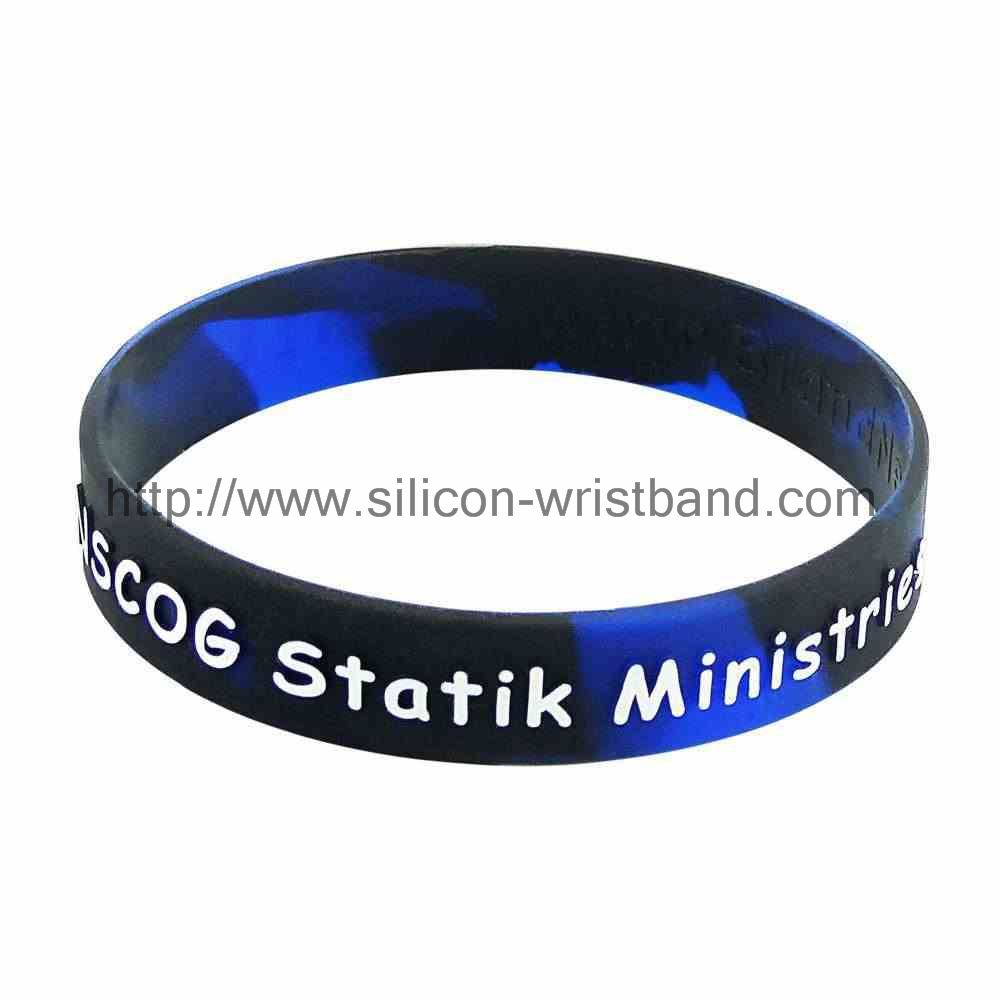 International shipping needs silicone wristbands for a long time?