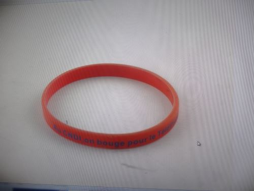 lung cancer rubber bracelets