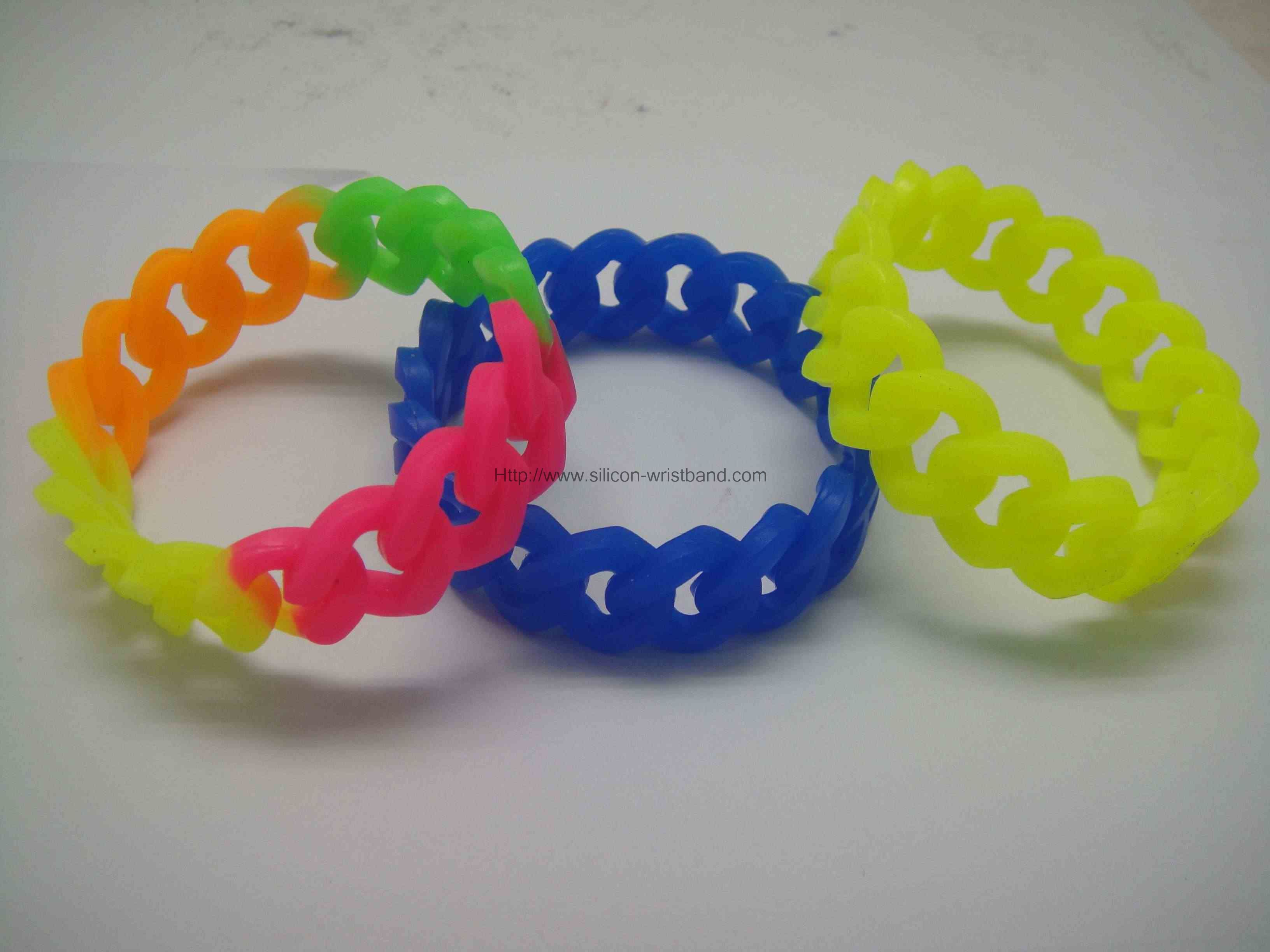 cheap silicone bracelets personalized