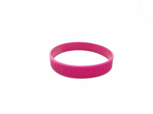 purple rubber wristbands