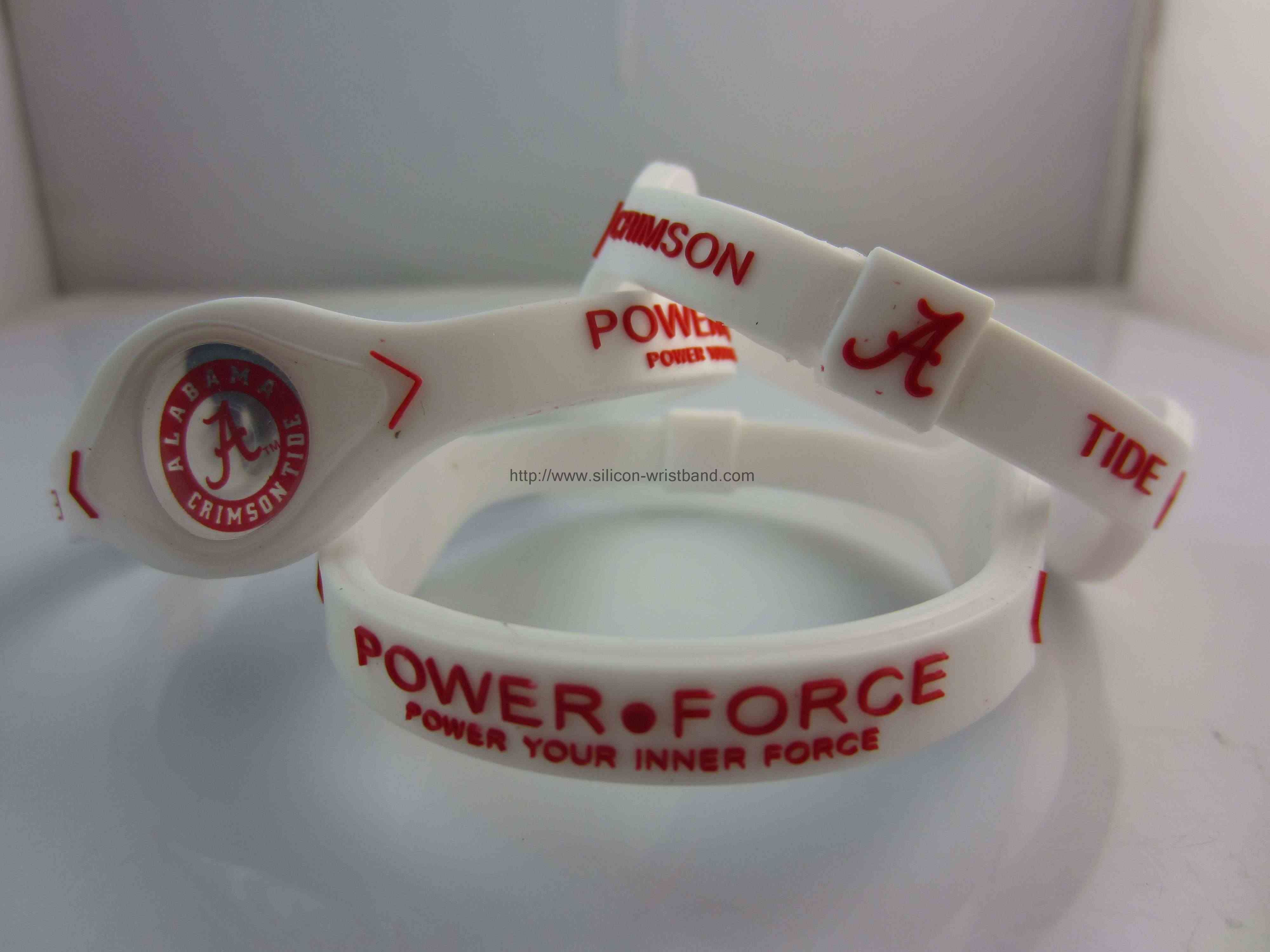 How to custom printed silicone wristbands?
