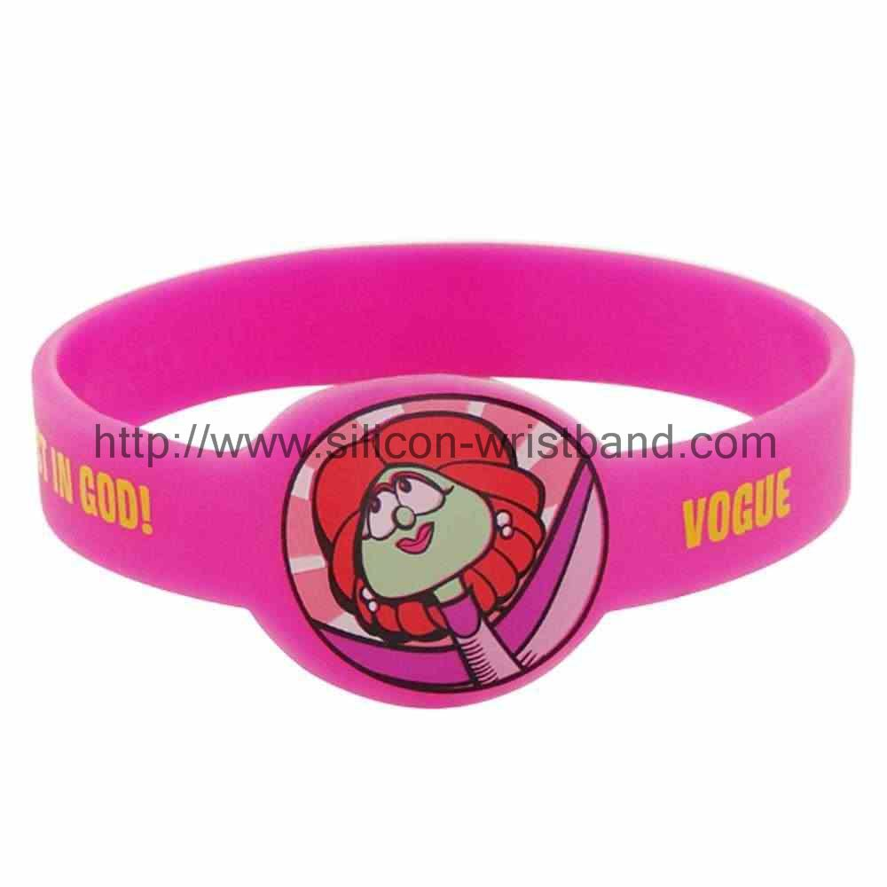 Try to find we buy silicone wristbands, you won't lose what
