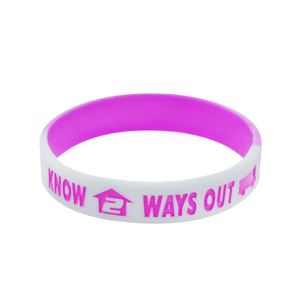 music silicone wristbands
