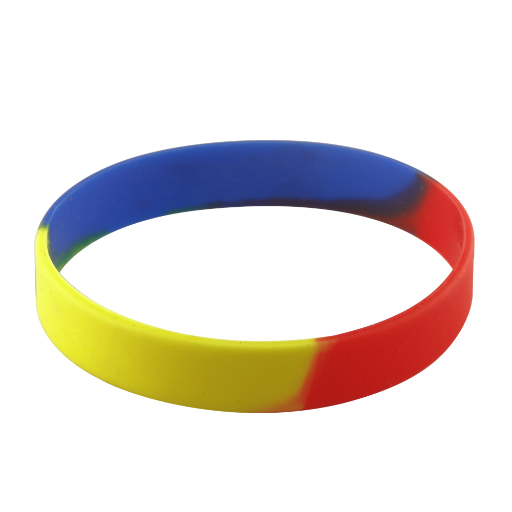 cheer rubber bracelets