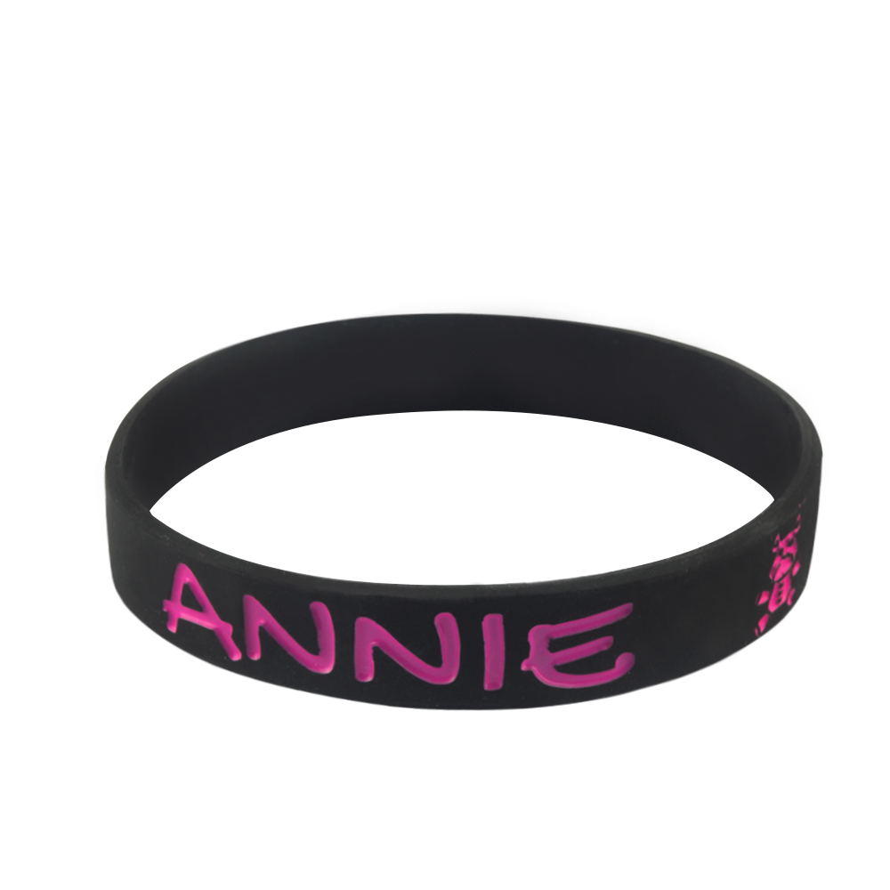custom rubber wristbands for events