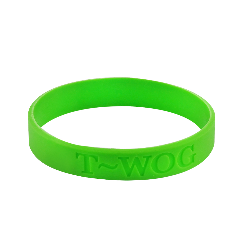 1 silicone wristbands