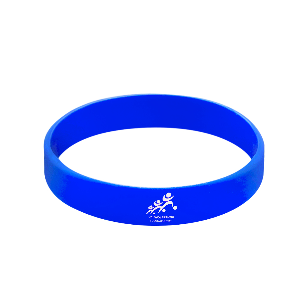 custom logo wristbands