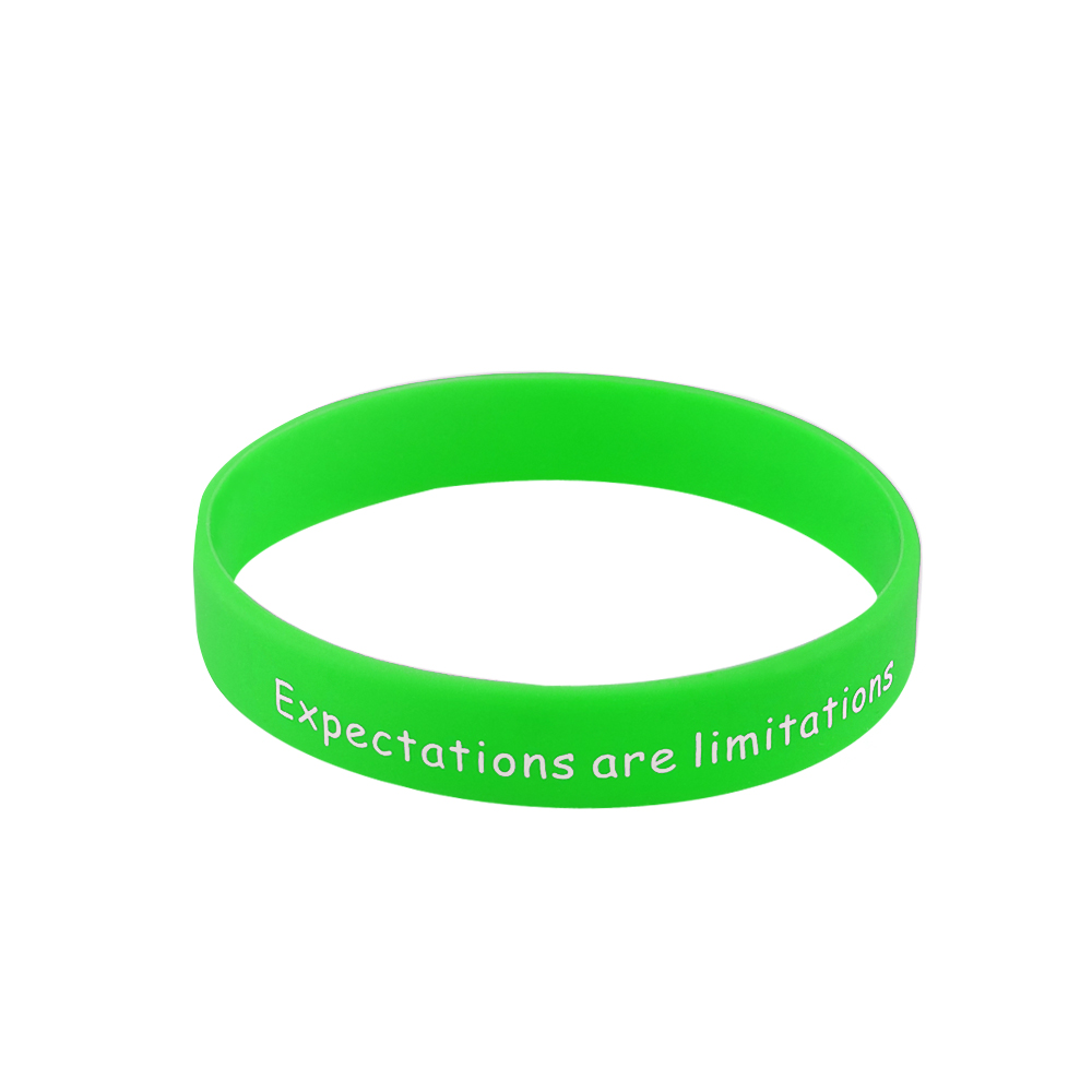 coloured rubber wristbands