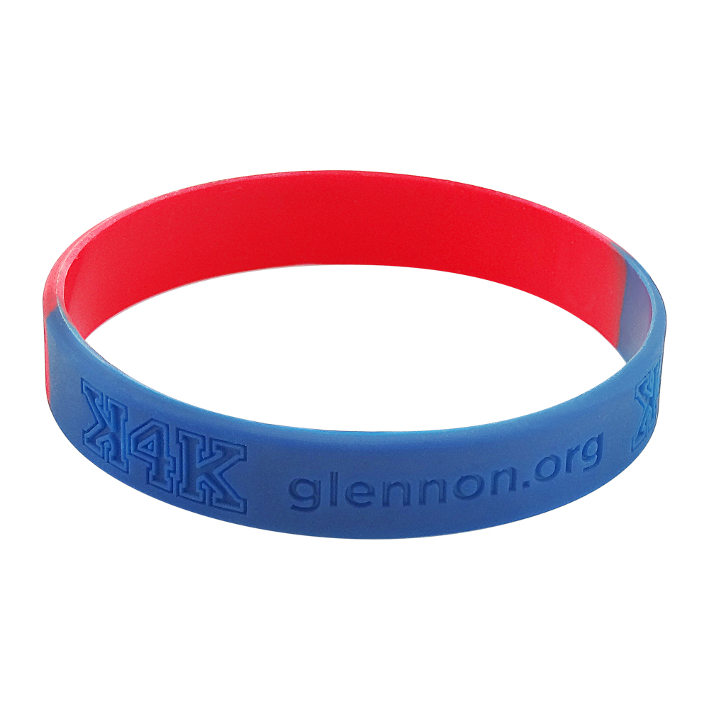where to buy blue rubber wristbands