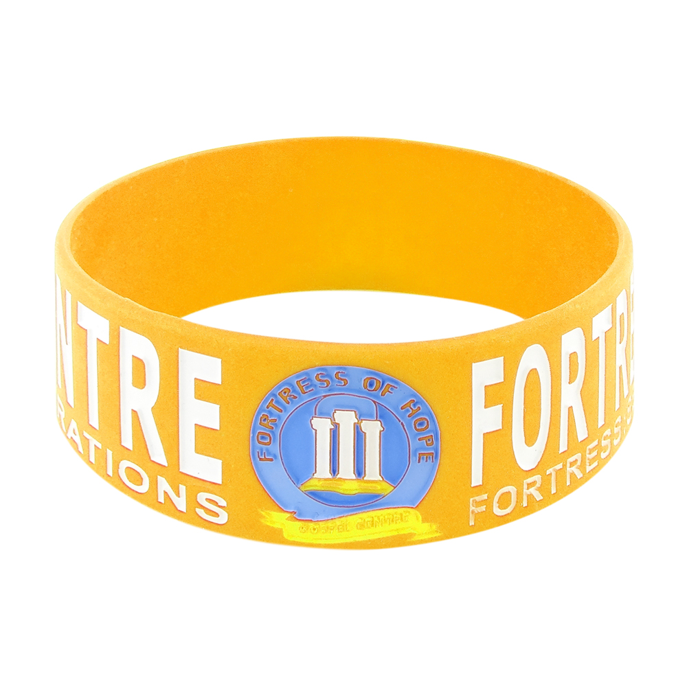 yellow wristbands