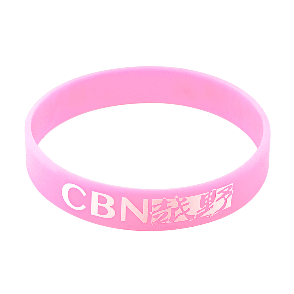breast cancer rubber bracelets