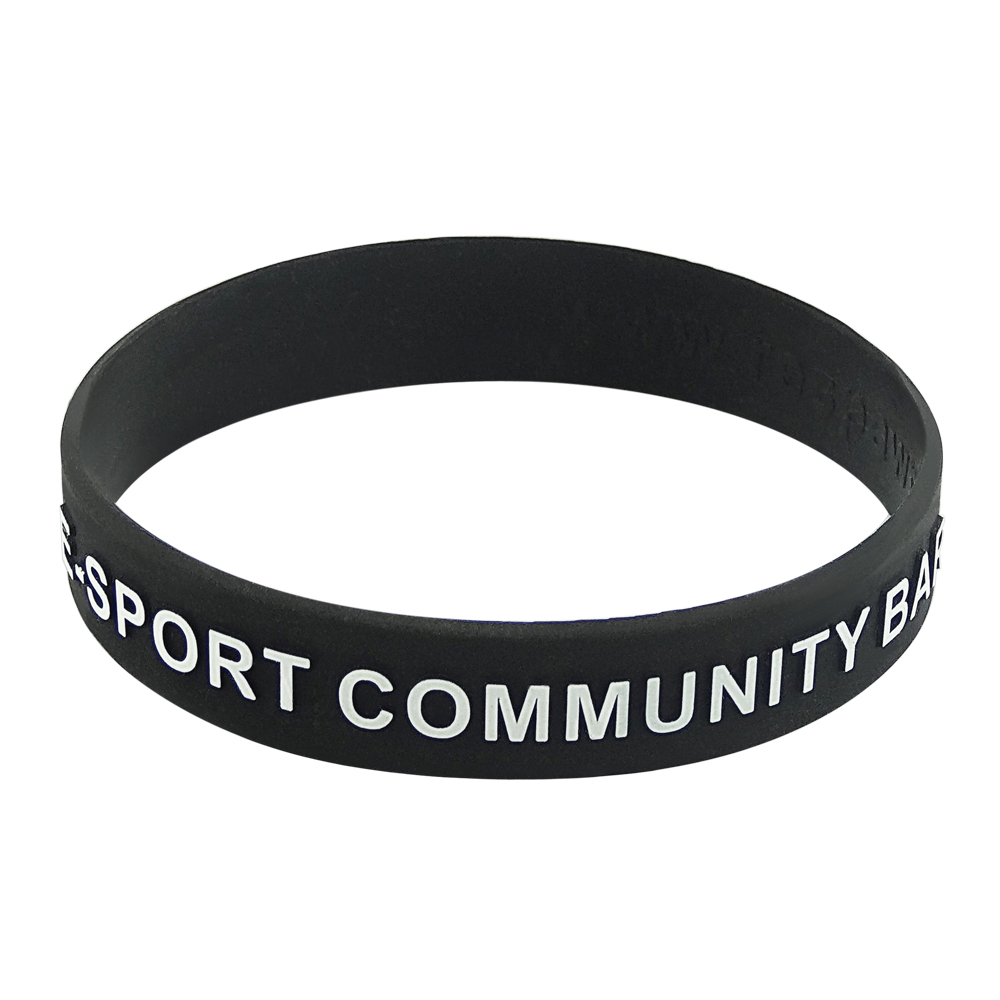 self injury awareness rubber bracelets