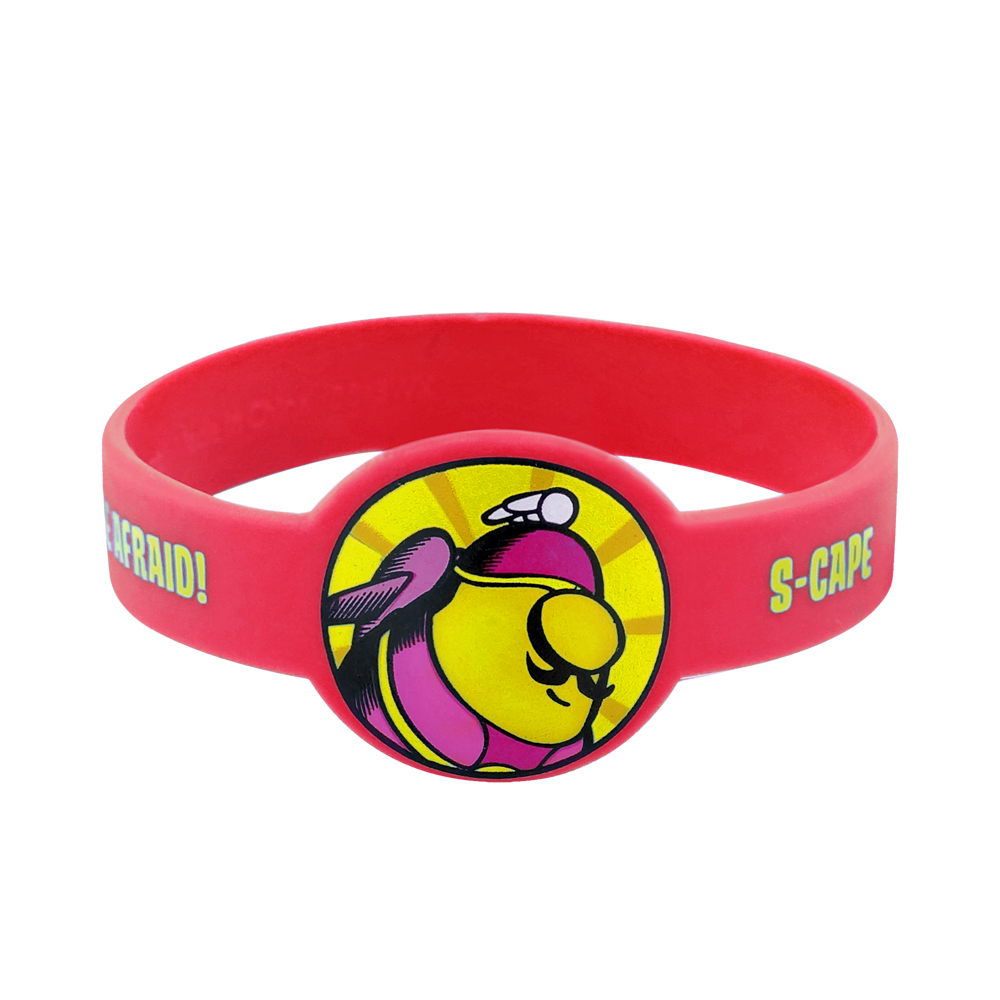 standard disposable event wristband size
