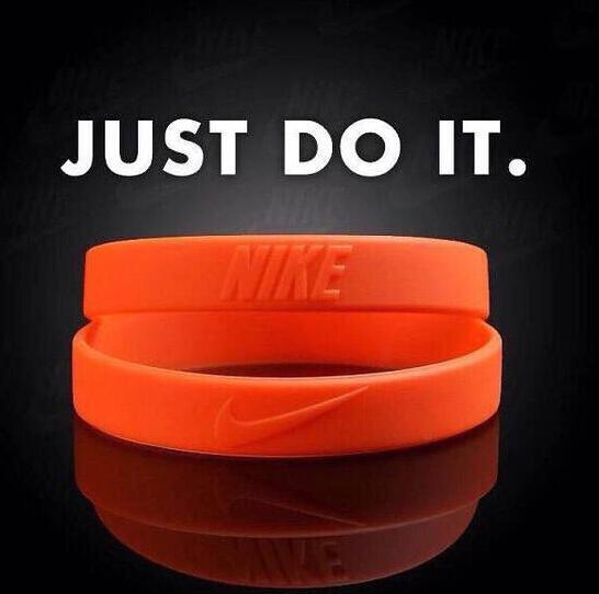rubber inspirational sayings wristband bracelets